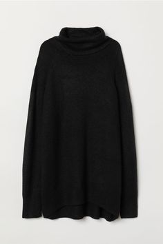 Jersey de punto y cuello alto dec105afdaa3