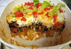 Debbi Does Dinner... Healthy & Low Calorie: Taco Corn Bread Casserole