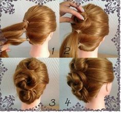 #simple#hairstyle#classy