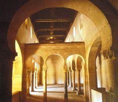 The chapel of San Miguel de Escalada, outside of Burgos.