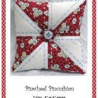 Pinwheel Pincushion with variations - via @Craftsy