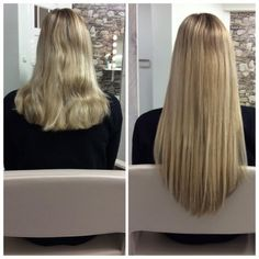 #hairweavegroningen #weave #haarverlenging #hairweave #beforeafter www.makeup-hair.nl