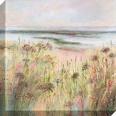 Buy Sue Fenlon - Coastal Pathway Print on Canvas, 40 x 40cm Online at johnlewis.com