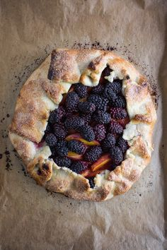 of Cooking » Blackberry Galette with Homemade Vanilla Whipped Cream ...