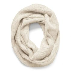 Coach Sculpted C Infinity Scarf ($198) ❤ liked on Polyvore