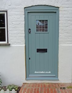 Oak Cottage Doors Framed Ledged Oak or Painted Hardwood Cottage Front Doors, Cottage Door, Garage Door Styles, Garage Doors, Interior Barn Doors, Exterior Doors, Oval Room Blue, Window Furniture, Front Doors With Windows
