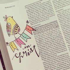 Romans 8:1 - Free in Christ [credit to TM Bender, FB]