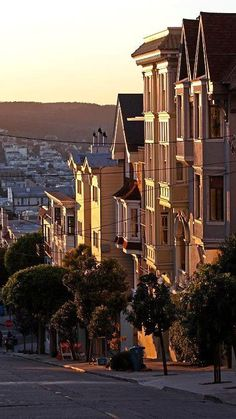 Old Victorian Houses on Green Street, San Francisco (by Jsysco on Flickr)
