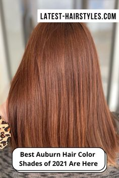 From dark, light to medium and highlights, too, you'll find the perfect auburn hair color right here. (Photo credit Instagram @beautybygabiejo) Red Brown Hair, Dark Hair, Red Hair, Light Auburn Hair, Hair Color Auburn, Latest Hairstyles, Straight Hairstyles, Hair Color Shades, Hair Colors