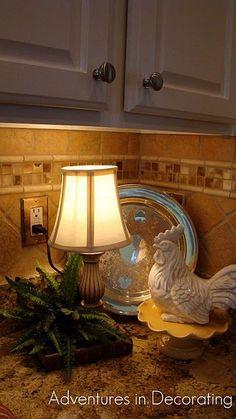 decorations for the kitchen  (tile idea)