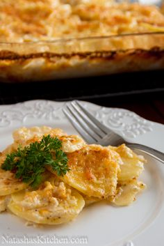 11 Days Till Christmas: Scalloped Potatoes Recipe & Zyliss Giveaway (Winner Announced!)