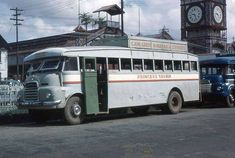 Guyana: Old Georgetown, British Guiana – pictures Bedford Buses, Bedford Van, Morris Oxford, Ford Zephyr, British Guiana, Bus Terminal, Morris Minor, Old Folks, National Archives