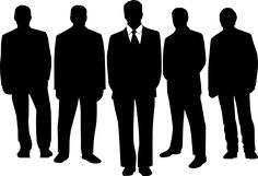 Businessmen, Men, People, Office
