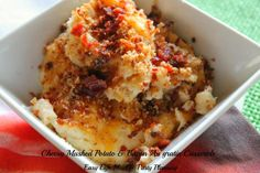 Quick & Tasty  Cheesy Bacon Au Gratin Potatoes by Easy Life Meal & Party Planning