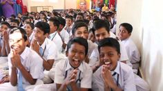 Laughter Yoga with School Children, Bangalore, India