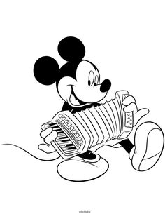 Disney Coloring Pages, Coloring For Kids, Coloring Sheets, Coloring Books, Colouring Pages, Music Doodle, Elementary Music Lessons, Bujo Doodles, Music Drawings