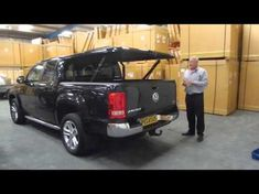 Volkswagen Amarok STANDARD Top Up Cover - YouTube