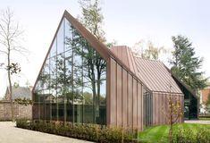 Casa unifamiliar VDV, Destelbergen, Bélgica (GRAUX & BAEYENS architecten) - Premio del Público y Mención especial 2015. #CopperAwards2015