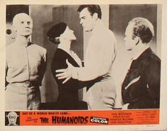 The Creation of the Humanoids – The Visuals Great Sci Fi Movies, Classic Horror Movies, Vintage Movies, World War Ii, Movie Posters, World War Two, Film Poster, Wwii, Old Movies