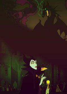 Favorite Villain ~ Maleficent she is awesome! Disney Love, Disney Art, Disney Pixar, Walt Disney, Disney Birds, Sleeping Beauty 1959, Disney Sleeping Beauty, Disney Maleficent, Disney Villains