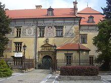 Pernštejnové – Wikipedie-CS:USER:Pernak-Prostějovský zámek,který dal Jan IV. z Pernštejna vystavět v letech 1521-1526