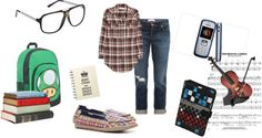 """Nerd"" by amck-mb on Polyvore"