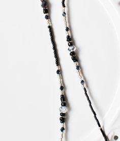 Łańcuszek do okularów Ray-Ban, tylko na www.modnienoszone.pl #handmade #eyeglasses #jewelry