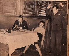 Tips For Single Women (1938)  Tip #1: Don't get drunk and pass out.  Your date will never call you again.