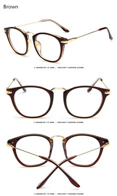 84f4791b28 2017 Brand Vintage Eyeglasses Eyewear Frames Women Men Eye Glasses Frames  Women Lady Degree Optical Eyeglass Spectacle Frame