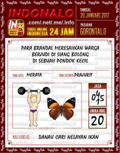 Nomer Hoki 4D Togel Wap Online Live Draw 4D Indonalo Gorontalo 20 Januari 2017