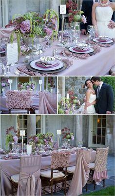 Dusky Lilac wedding inspiration from Facebook Pastel Dress #2dayslook #sasssjane #PastelDress www.2dayslook.com