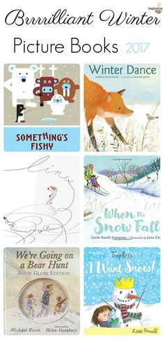 brilliant winter picture books from 2017! Great to read aloud to young children.