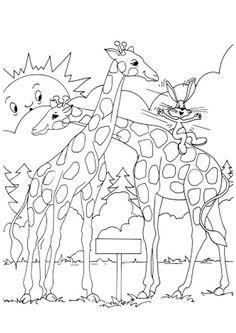 Kleurplaat luipaard kleuren en kleurplaten pinterest sketches - Dessin de calin ...
