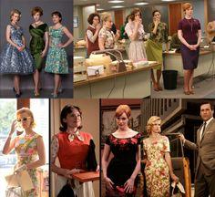 Madmen Vintage Fashion! Femme Fatale!
