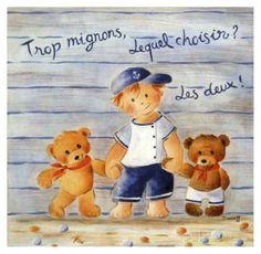 Trop Mignons, Lequel Choisir? Affiches par Joëlle Wolff sur AllPosters.fr