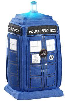 Who doesn't need a talking plush TARDIS?