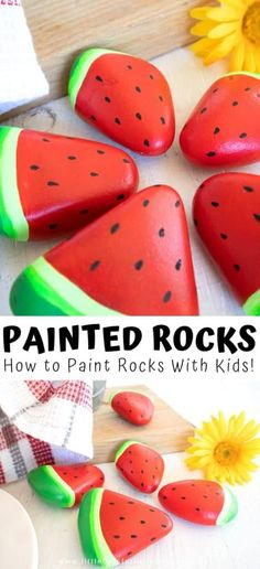 How To Make Painted Rocks for Nature Trail Art!