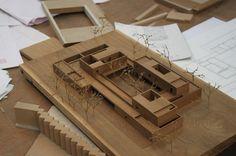 Maquette Architecture, Museum Architecture, Architecture Design, Mexico House, Composition Art, Archi Design, Arch Model, Architectural Models, Conception