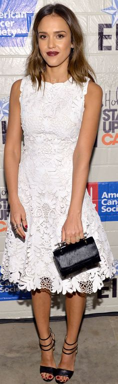 Jessica Alba - 2014 Hollywood Stands Up to Cancer Event, Culver City (Jan. 28)