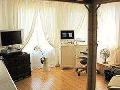 Studio Apartment Decorating Ideas Using Limited Space : Studio Apartment Decorating Ideas With Wooden Floor