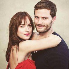 Jamie and Dakota / perfection/ Fifty Shades Of Grey / movie / Christian Grey / Jamie Dornan / Anastasia Steele / Dakota Johnson