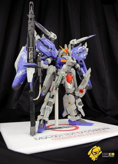 GK 1/100 EX-S Gundam Alyce System: Work by Afflatus Studio. Photoreview Big Size Images