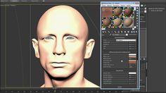 "Making of ""Portrait of Daniel Craig"" by Luc Bégin V-Ray for 3dsMax TutorialComputer Graphics & Digital Art Community for Artist: Job, Tutorial, Art, Concept Art, Portfolio"