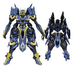 Ikaruga Knights and Magic Arte Robot, Robot Art, Robot Factory, Mecha Suit, Cool Robots, Anime Weapons, Gundam Art, Custom Gundam, Mecha Anime