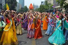 Ratha Yatra In Santiago De Chile  (Album with photos)  By the causeless mercy of Sri Sri Gaura Nitai all devotees can have stre…