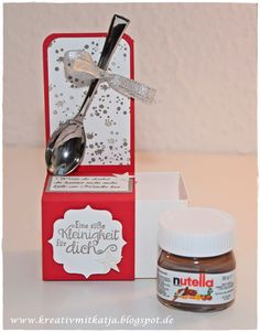 Mini-Nutella - Kreativ mit Katja