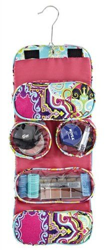 Fold-Up Toiletry Organizer - Dorm Room Organization Ideas College Supply Organizer