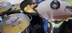 Schnellkochtopf und Induktion - Funktioniert das zusammen? Kitchen Appliances, Fissler Pressure Cooker, Gas Cookers, Cooking, Recipies, Diy Kitchen Appliances, Home Appliances, Kitchen Gadgets