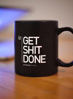 "Mug ""Get Shit DONE"" Aaron Levie | $16"