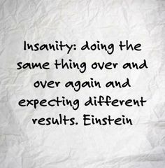 Accept change ~ Einstein